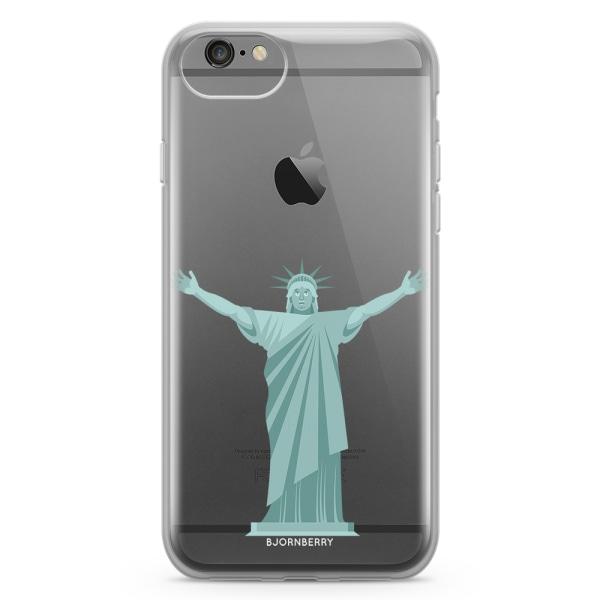 Bjornberry Skal Hybrid iPhone 6/6s - Frihetsgudinnan