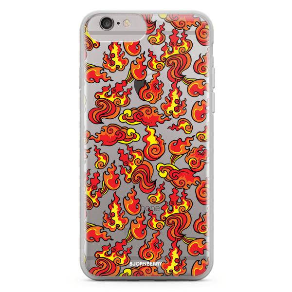 Bjornberry Skal Hybrid iPhone 6/6s Plus - Eld