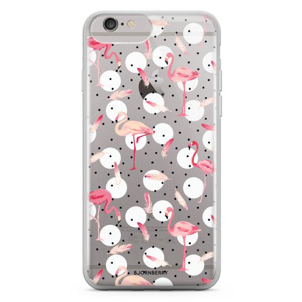 Bjornberry Skal Hybrid iPhone 6/6s Plus - Flamingos