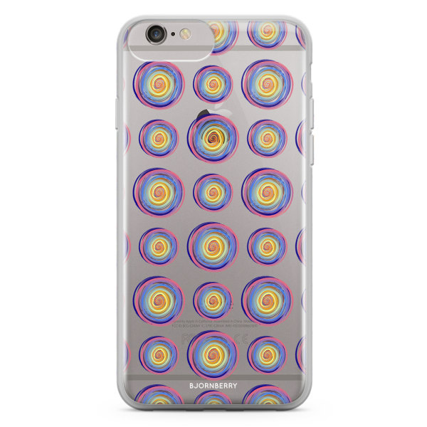Bjornberry Skal Hybrid iPhone 6/6s Plus - Polka Dots