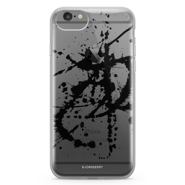 Bjornberry Skal Hybrid iPhone 6/6s - Svart Färgstänk
