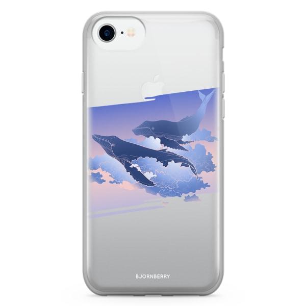 Bjornberry Skal Hybrid iPhone 7 - Flygande valar