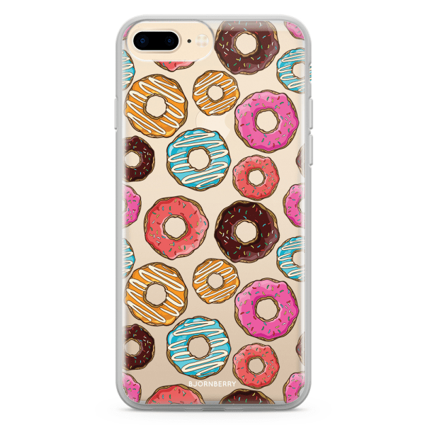 Bjornberry Skal Hybrid iPhone 7 Plus - Donuts