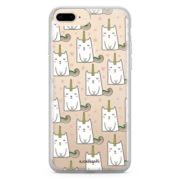 Bjornberry Skal Hybrid iPhone 7 Plus - Kattenhörning