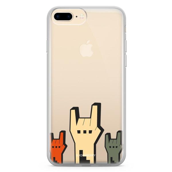 Bjornberry Skal Hybrid iPhone 7 Plus - Rock Händer