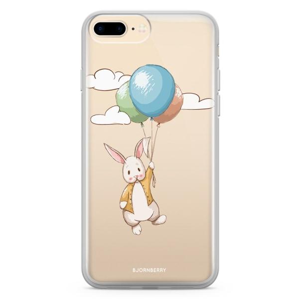 Bjornberry Skal Hybrid iPhone 7 Plus - Söt Kanin