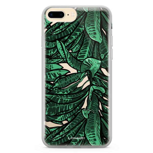 Bjornberry Skal Hybrid iPhone 7 Plus - Tropiska Löv