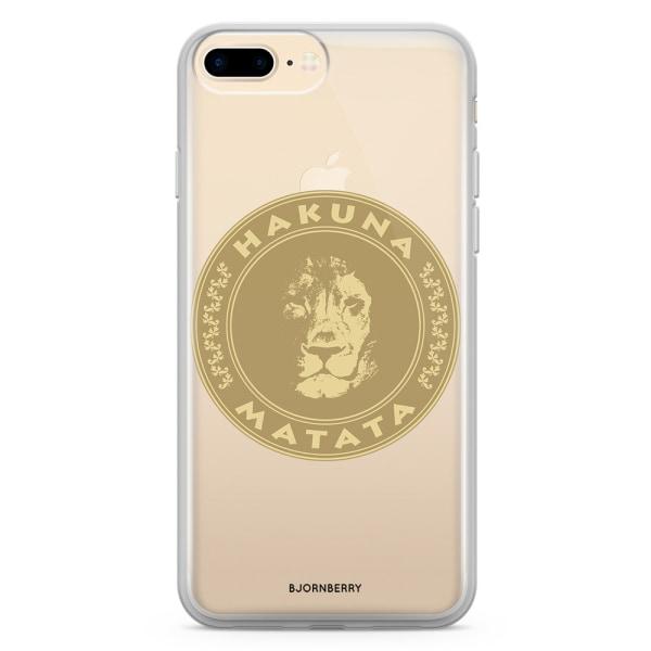 Bjornberry Skal Hybrid iPhone 8 Plus - Hakuna Matata
