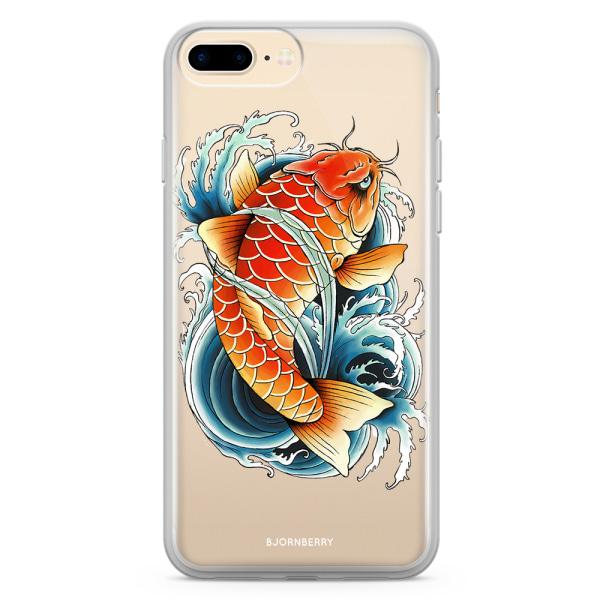 Bjornberry Skal Hybrid iPhone 8 Plus - Koifisk