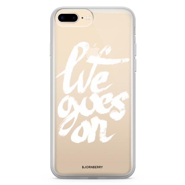 Bjornberry Skal Hybrid iPhone 8 Plus - Life Goes On