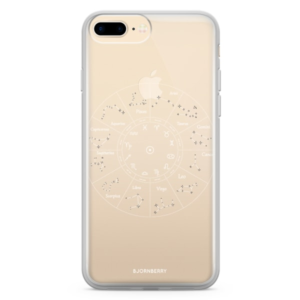 Bjornberry Skal Hybrid iPhone 8 Plus - Stjärnbilder