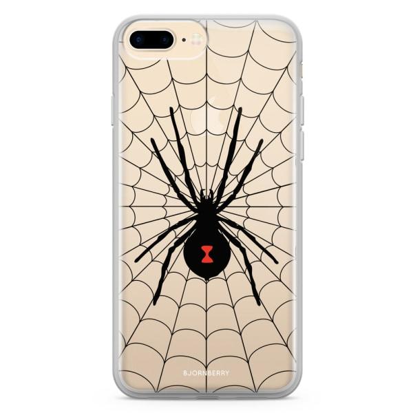 Bjornberry Skal Hybrid iPhone 8 Plus - Svarta Änkan