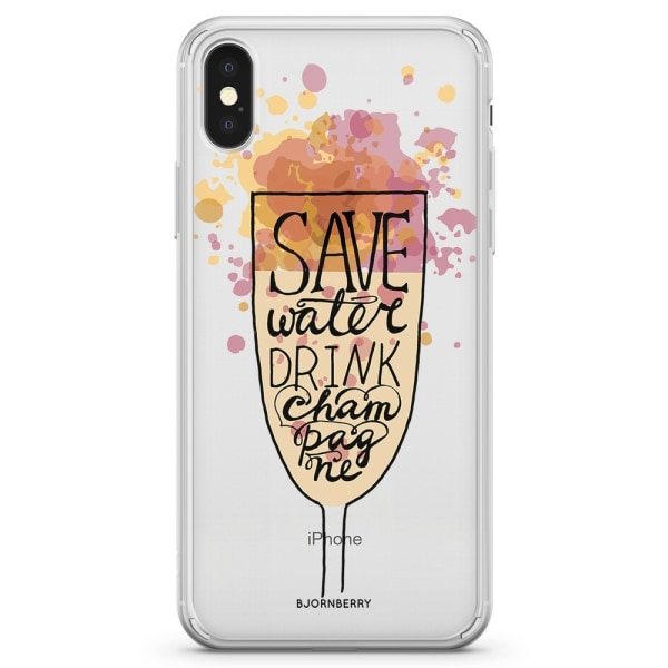 Bjornberry Skal Hybrid iPhone X / XS - Champagne
