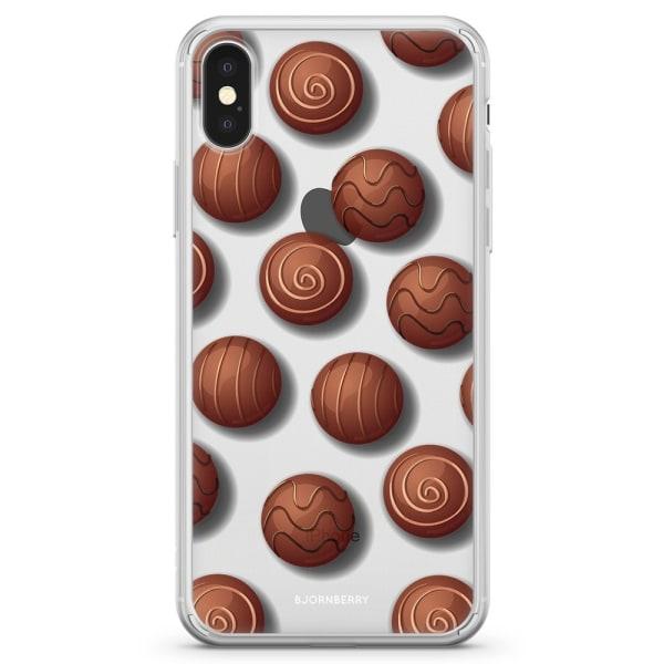 Bjornberry Skal Hybrid iPhone X / XS - Choklad