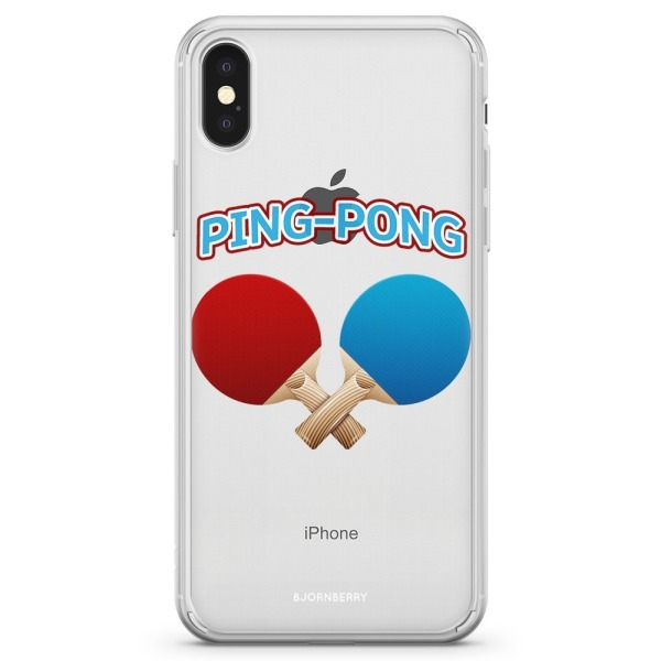 Bjornberry Skal Hybrid iPhone X / XS - Ping-Pong