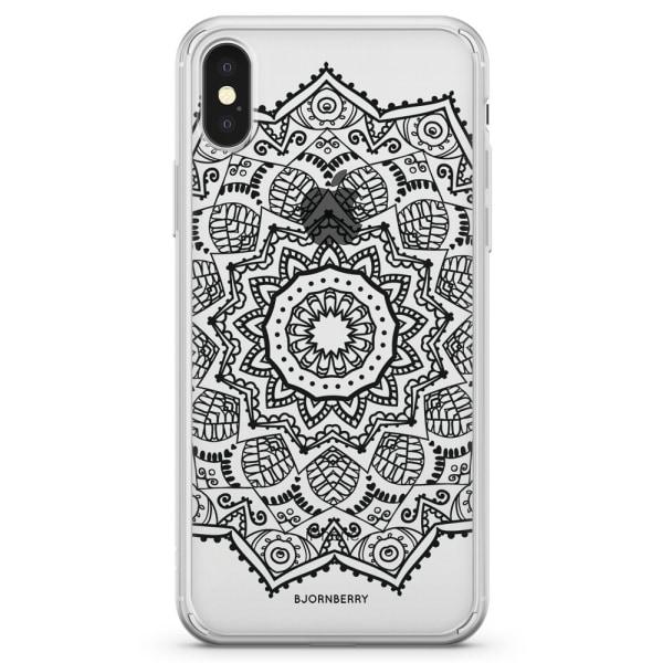 Bjornberry Skal Hybrid iPhone X / XS - Svart Mandala