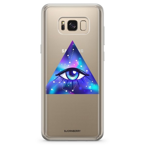 Bjornberry Skal Hybrid Samsung Galaxy S8 - Allseende Öga