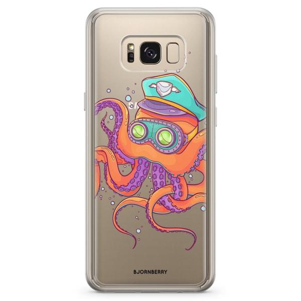 Bjornberry Skal Hybrid Samsung Galaxy S8+ - Bläckfisk Kapten