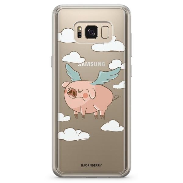 Bjornberry Skal Hybrid Samsung Galaxy S8+ - Flygande Gris