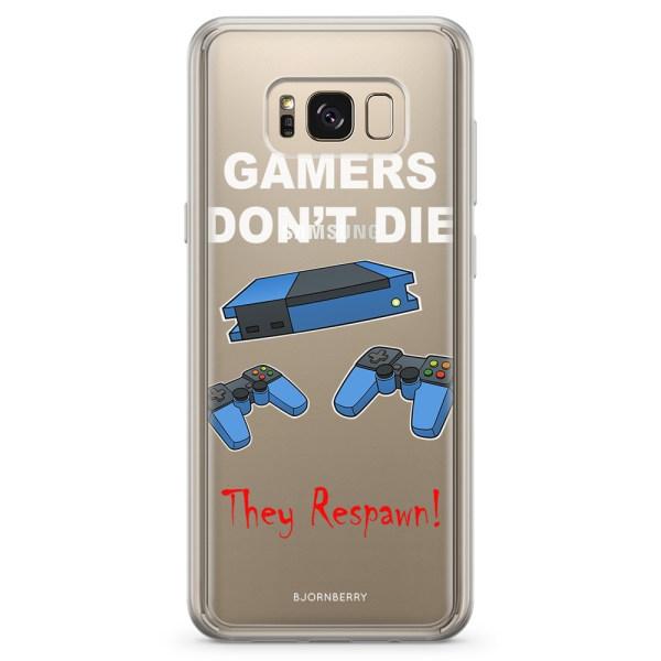 Bjornberry Skal Hybrid Samsung Galaxy S8+ - Gamers Don't Die