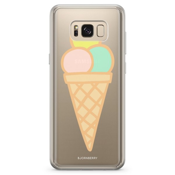 Bjornberry Skal Hybrid Samsung Galaxy S8 - Glass