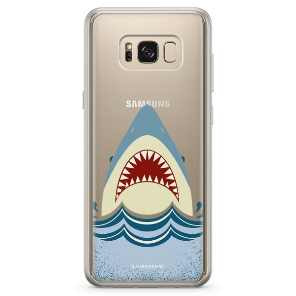 Bjornberry Skal Hybrid Samsung Galaxy S8+ - Hajen