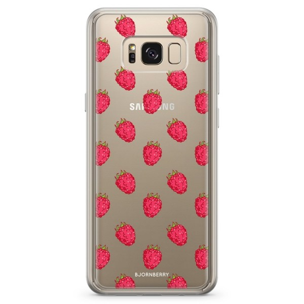 Bjornberry Skal Hybrid Samsung Galaxy S8 - Hallon