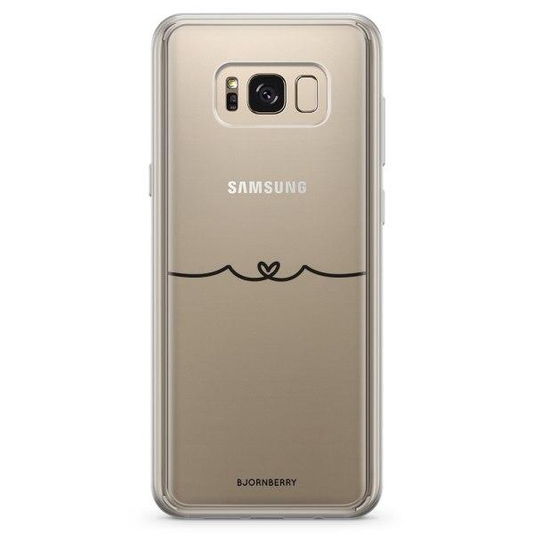 Bjornberry Skal Hybrid Samsung Galaxy S8 - Heart