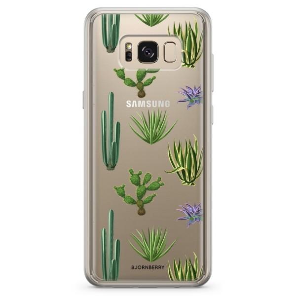 Bjornberry Skal Hybrid Samsung Galaxy S8+ - Kaktusar