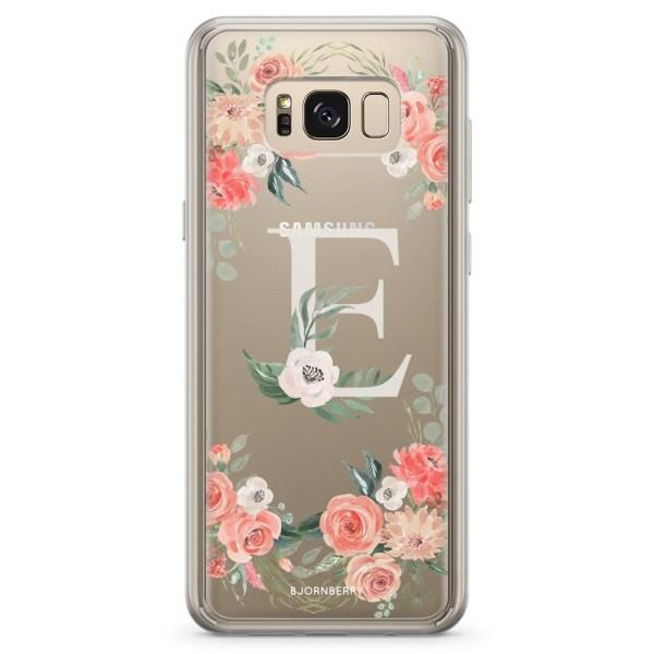 Bjornberry Skal Hybrid Samsung Galaxy S8 - Monogram E