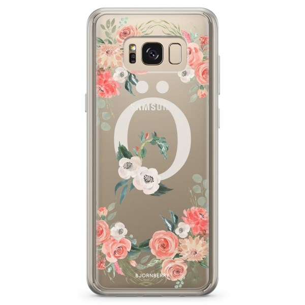 Bjornberry Skal Hybrid Samsung Galaxy S8 - Monogram Ö