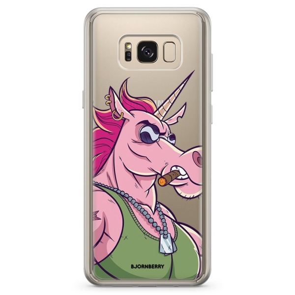 Bjornberry Skal Hybrid Samsung Galaxy S8+ - Muskel Enhörning