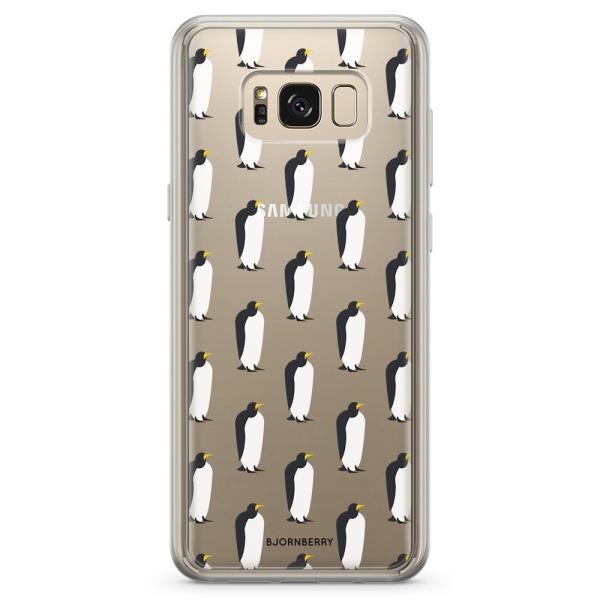 Bjornberry Skal Hybrid Samsung Galaxy S8+ - Pingviner