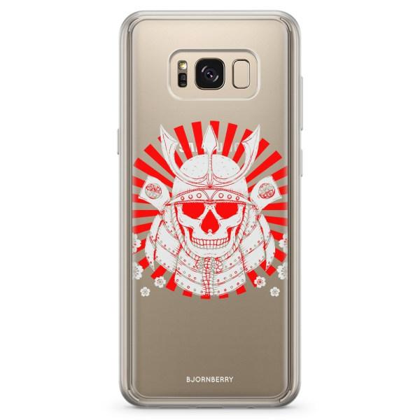 Bjornberry Skal Hybrid Samsung Galaxy S8+ - Samurai Döskalle