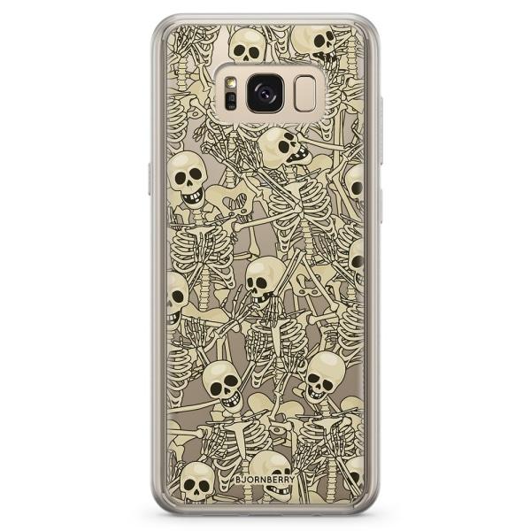 Bjornberry Skal Hybrid Samsung Galaxy S8+ - Skelett