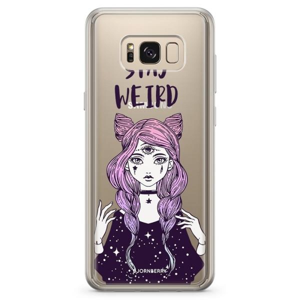 Bjornberry Skal Hybrid Samsung Galaxy S8+ - Stay Weird