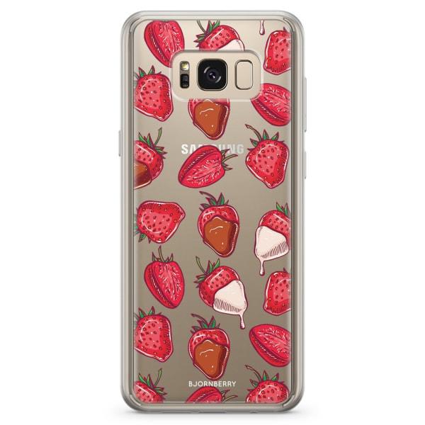 Bjornberry Skal Hybrid Samsung Galaxy S8 - Strawberry Chocolate