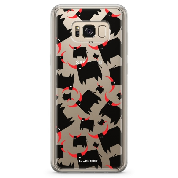 Bjornberry Skal Hybrid Samsung Galaxy S8+ - Tjur Röda Horn