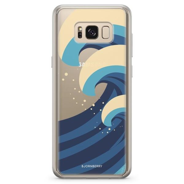 Bjornberry Skal Hybrid Samsung Galaxy S8 - Vågor