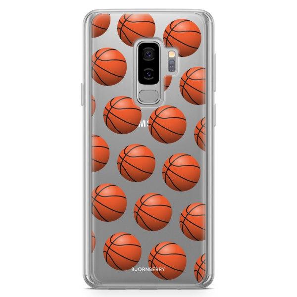 Bjornberry Skal Hybrid Samsung Galaxy S9+ - Basketbollar