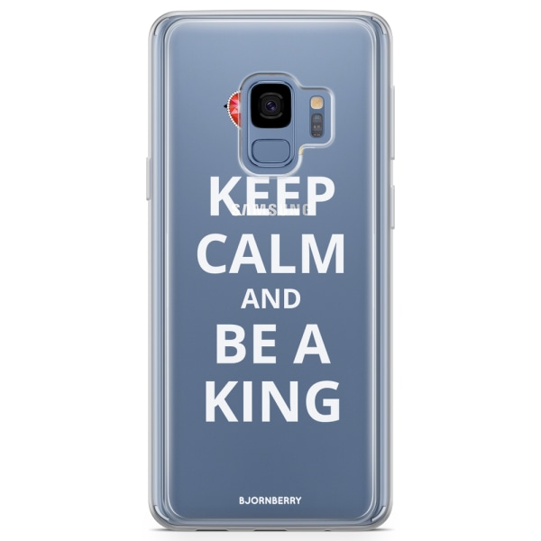 Bjornberry Skal Hybrid Samsung Galaxy S9 - Be A King