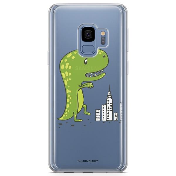 Bjornberry Skal Hybrid Samsung Galaxy S9 - Dinosaurie