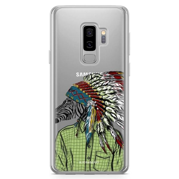 Bjornberry Skal Hybrid Samsung Galaxy S9+ - Hipster Zebra
