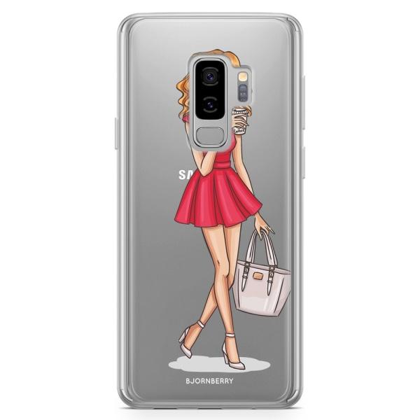 Bjornberry Skal Hybrid Samsung Galaxy S9+ - Modeskiss Tjej