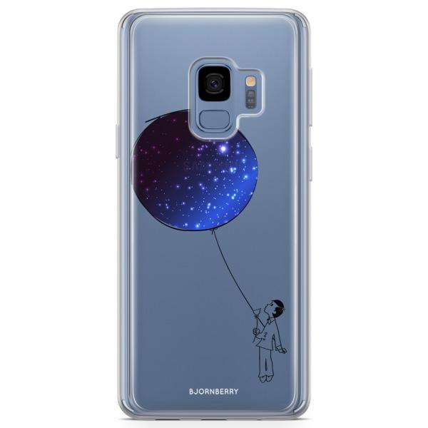 Bjornberry Skal Hybrid Samsung Galaxy S9 - Rymd ballong