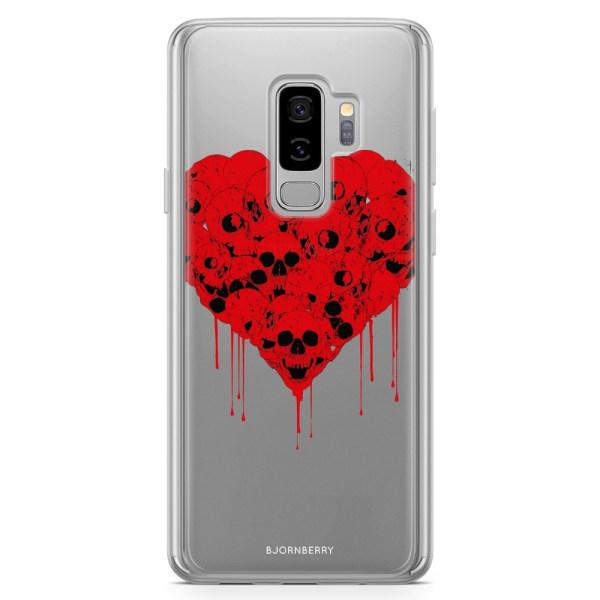 Bjornberry Skal Hybrid Samsung Galaxy S9+ - Skull Heart
