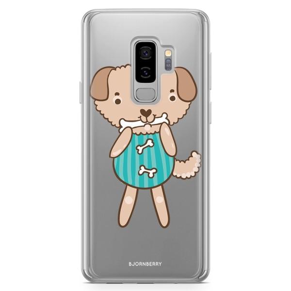 Bjornberry Skal Hybrid Samsung Galaxy S9+ - Söt Hund