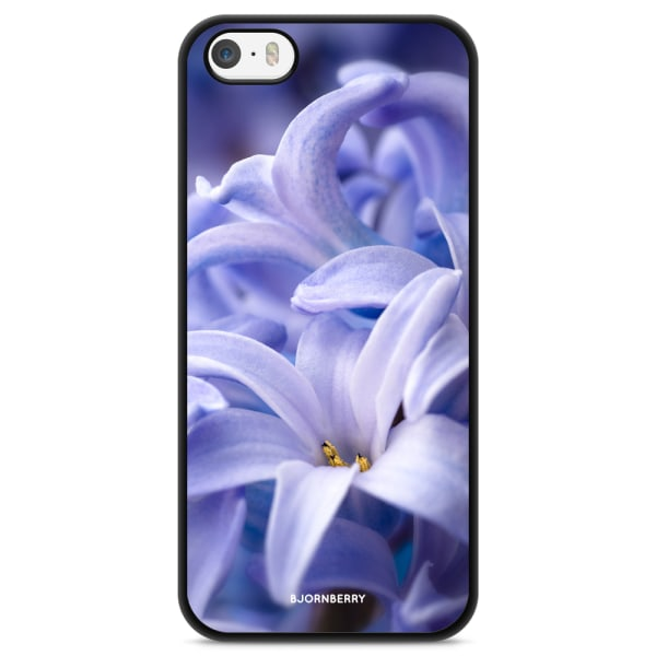 Bjornberry Skal iPhone 5/5s/SE - Blå blomma
