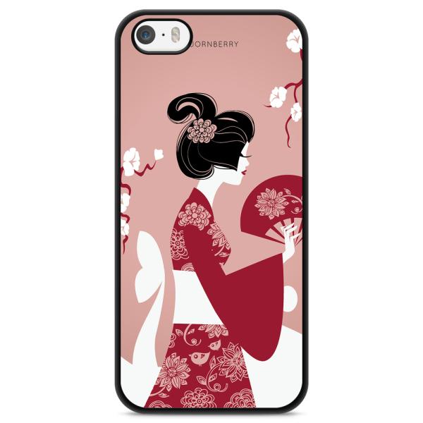 Bjornberry Skal iPhone 5/5s/SE - Japansk Kvinna