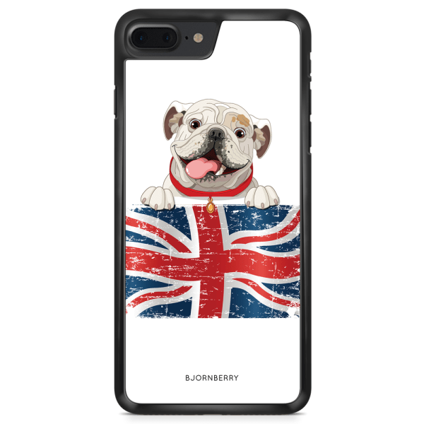 Bjornberry Skal iPhone 8 Plus - Engelsk Bulldog